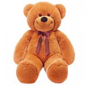 Плюшевый медведь Нестор (шоколадный)