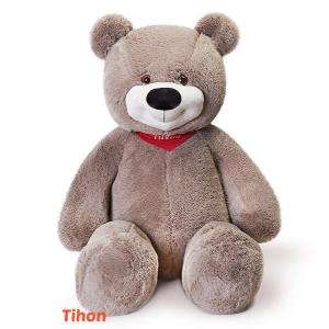Плюшевый медведь Тихон (серый)