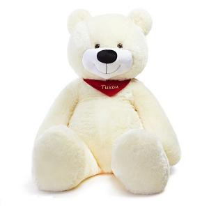 Плюшевый медведь Тихон (белый)