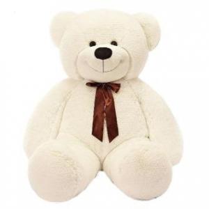 Плюшевый медведь Нестор (белый)