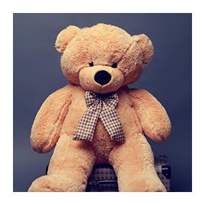 Плюшевый медведь Миха (карамельный)