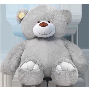 Плюшевый мишка Веня (серый)