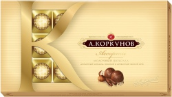 А. Коркунов (ассорти) Молочный шоколад