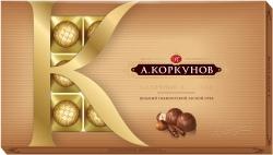 А. Коркунов Молочный шоколад с лесным орехом