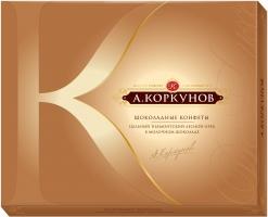 А. Коркунов Цельный лесной орех в молочном шоколаде