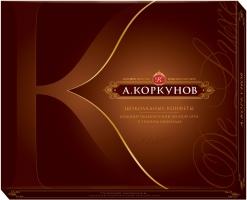 А. Коркунов Цельный лесной орех в тёмном шоколаде