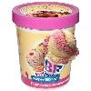 Мороженое Баскин Роббинс банановое с клубникой 1000мл