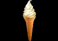 Мороженое в рожке Летнее