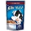 Корм для кошек Felix (Феликс) Аппетитные кусочки консервы с говядиной в желе 85г пакет