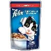 Корм для кошек Felix (Феликс) Аппетитные кусочки консервы с кроликом в желе 85г пакет