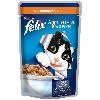 Корм для кошек Felix (Феликс) Аппетитные кусочки консервы с печенью 85г пакет