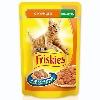 Корм для кошек Friskies (Фрискис) консервы с курицей в подливе 100г пакет