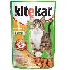 Корм для кошек Kitekat (Китекат) Влажный рацион курица в соусе 100г пакет