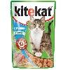 Корм для кошек Kitekat (Китекат) Влажный рацион печень в соусе по-домашнему 100г пакет