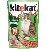 Корм для кошек Kitekat (Китекат) Влажный рацион рыба в соусе 100г пакет