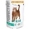 Корм Perfect Fit (Перфект Фит) для домашних кошек курица 750г пакет сухой