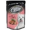 Корм для собак Cesar (Цезарь) консервы из говядины кролика в соусе со шпинатом 100г пакет