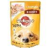 Корм для собак Pedigree (Педигри) Влажный рацион курица в соусе 100г пакет