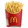 Средний фри картофель