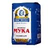 Мука пшеничная Настюша высший сорт 2кг пакет