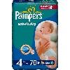 Подгузники Pampers Active Baby (Памперс Актив Бэби) Maxi 7-18кг 70шт джамбо упаковка
