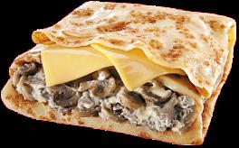 Блин E-mail с грибами и сыром