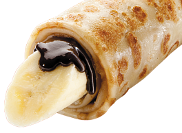 Шоко-Блин с бананом
