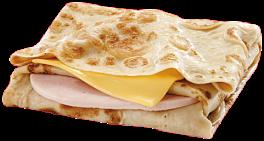 Блинчик с ветчиной и сыром