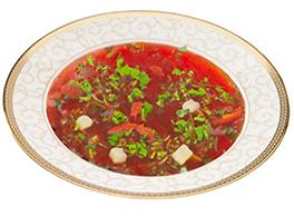 Борщ «Кубанский» постный (блюдо продается только в Краснодаре)