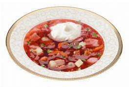 Борщ «Кубанский» (блюдо продается только в Краснодаре)