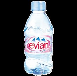 Вода Evian 0,33 л