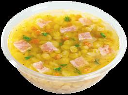 Суп гороховый с копчёностями