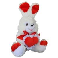 Зайчонок Тимошка с сердцем 41 см
