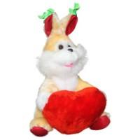 Заяц с сердцем 32 см